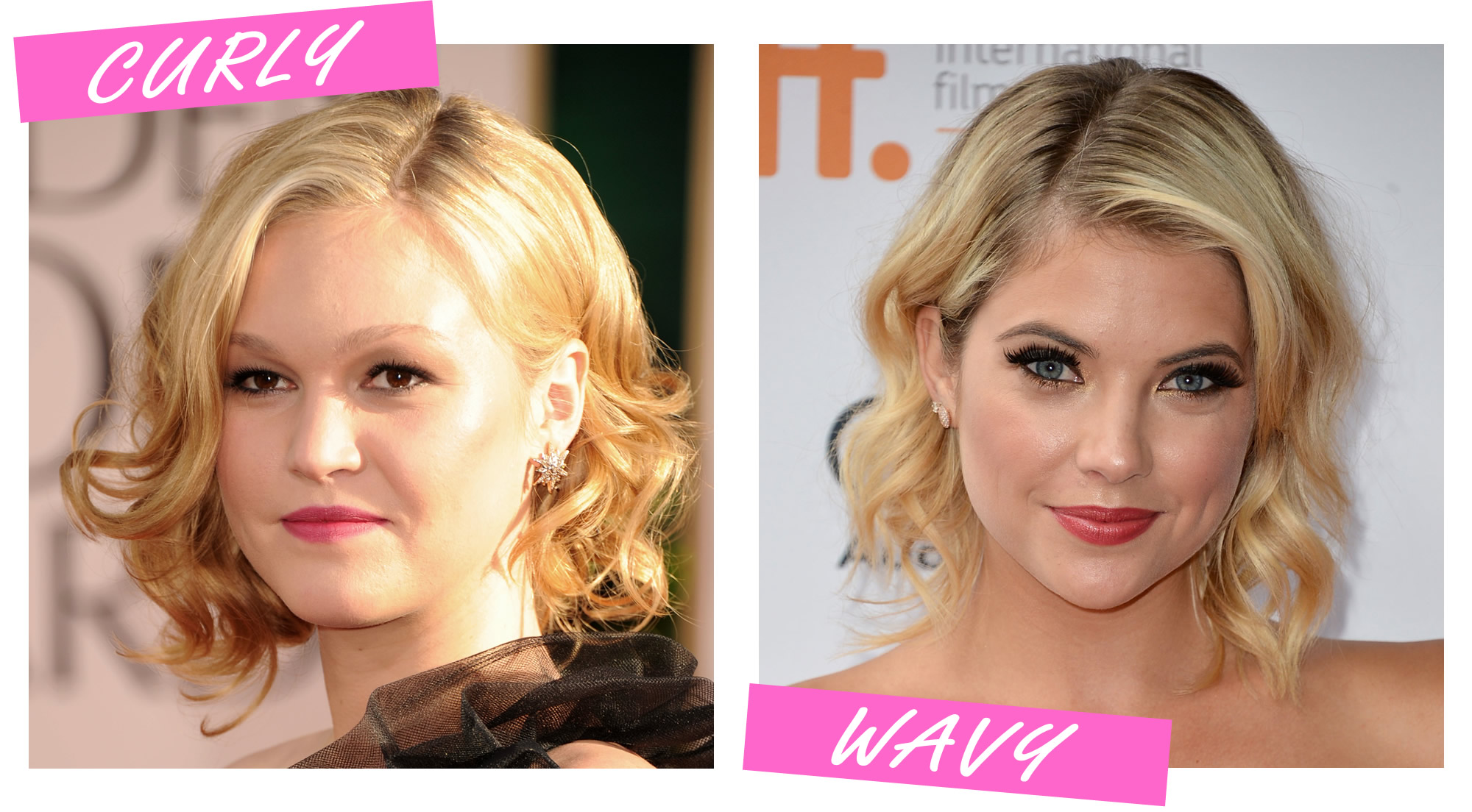 Curling Short Hair with a Curling Iron