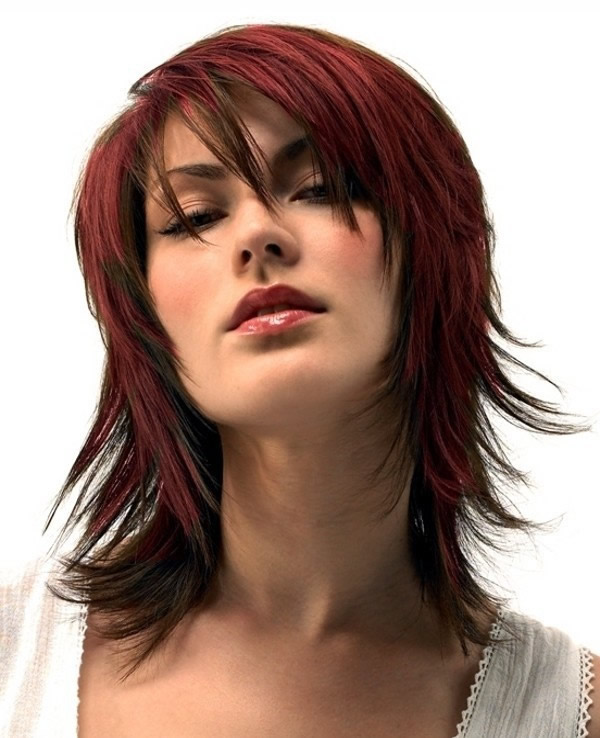 Astounding 1000 Images About Shag Haircuts On Pinterest Shag Hairstyles Short Hairstyles Gunalazisus