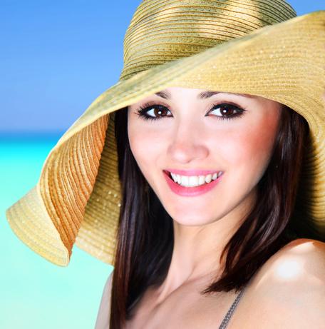 Women in a Sun Hat