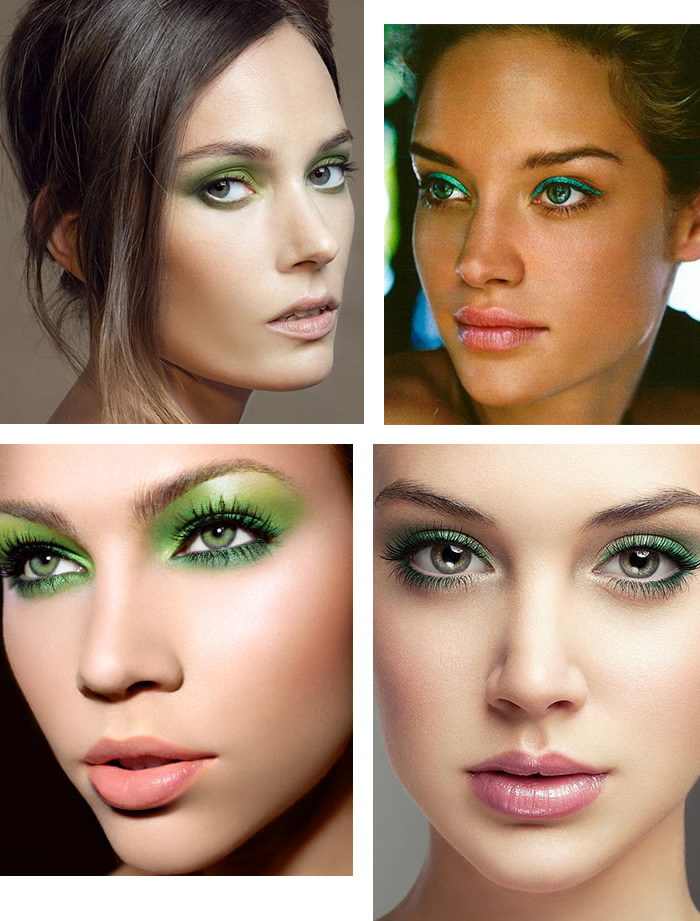 Green Makeup for Green Eyes