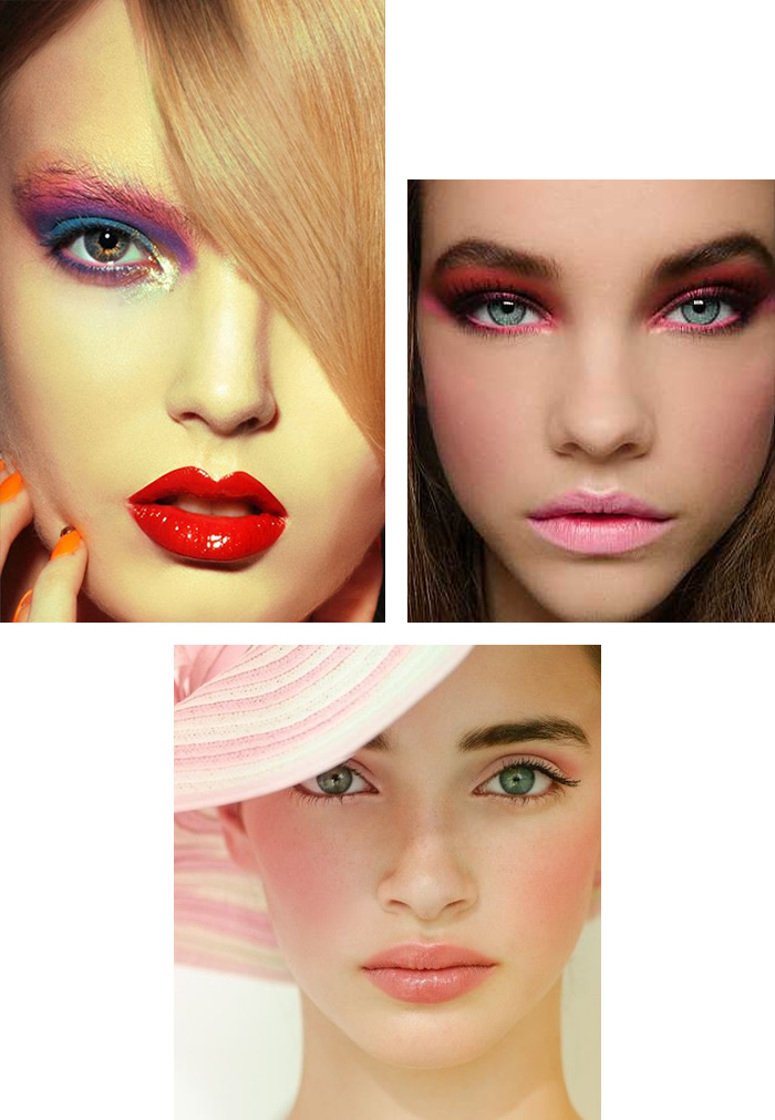 Pink Makeup for Green Eyes
