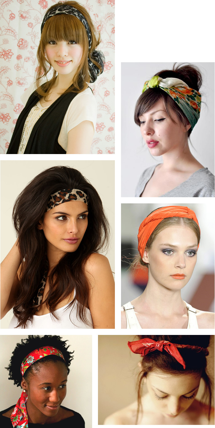 Scarf Hair Accessories